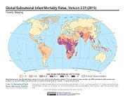 Map: Infant Mortality Rates, Version 2.01 (2015)