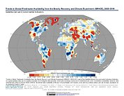 Map: GRACE Freshwater Availability Trends (2002-2016)