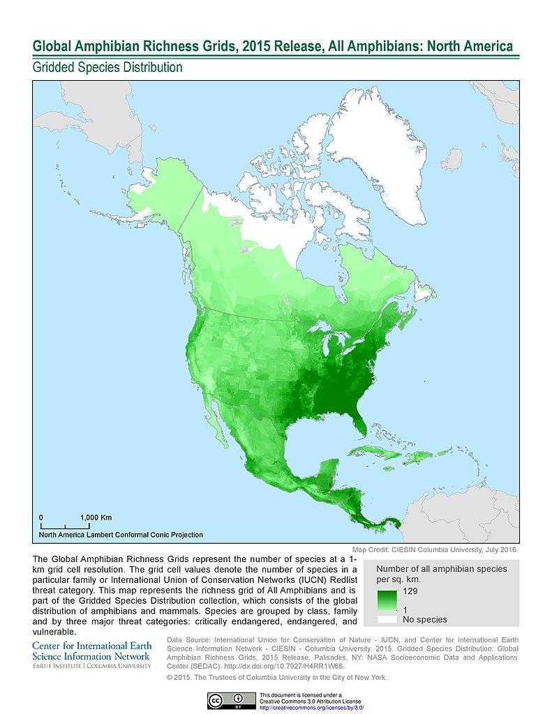 Maps 2015.Maps Gridded Species Distribution Sedac