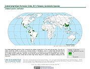 Map: Amphibian Richness - Vulnerable, 2015