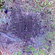 Map: Landsat Image: Beijing, China