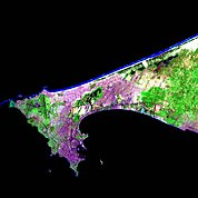 Map: Landsat Image: Dakar, Senegal