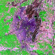 Map: Landsat Image: Jaipur, India