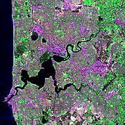 Map: Landsat Image: Perth, Australia