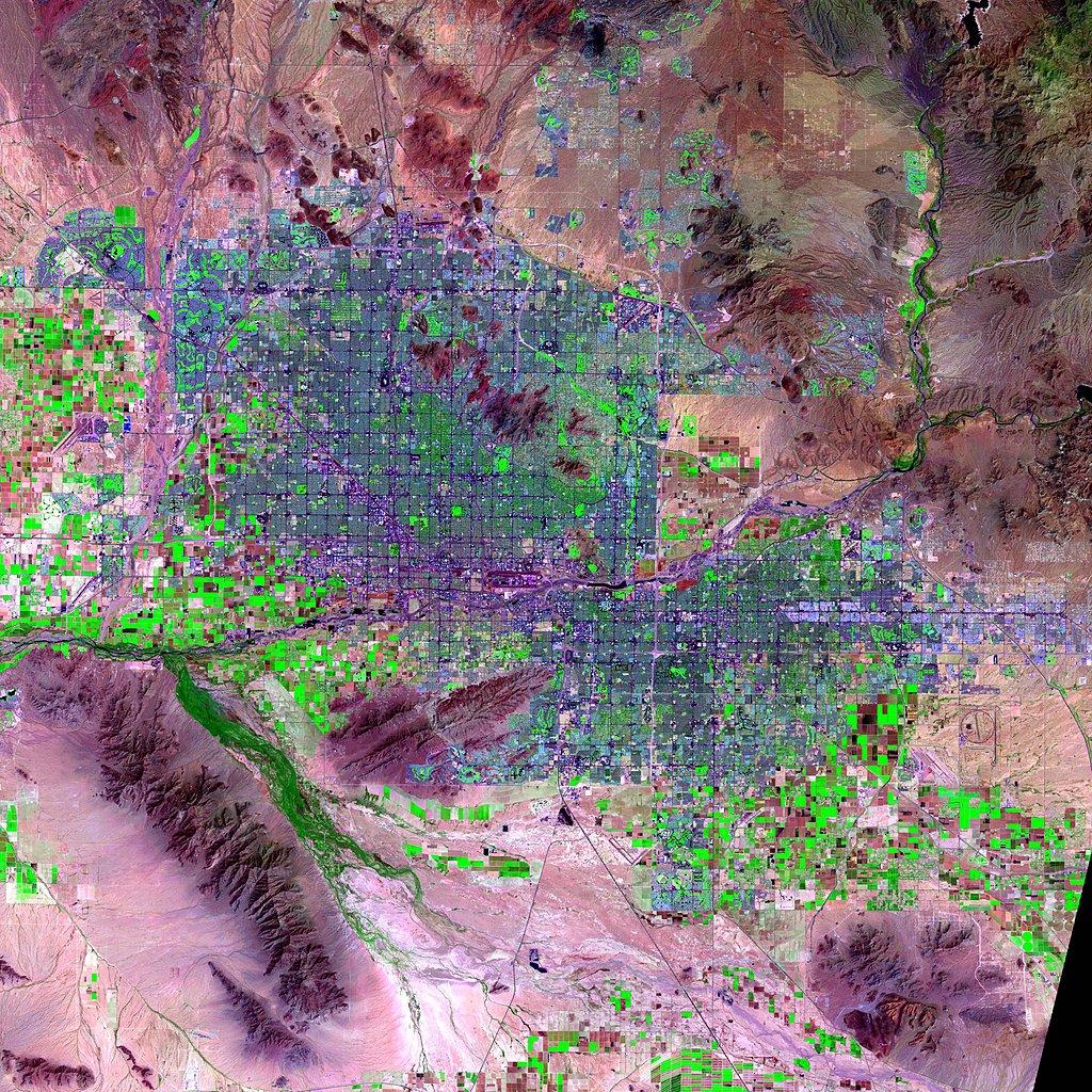 Maps » Urban Landsat: Cities from Space, v1:   SEDAC