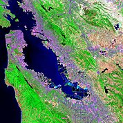 Map: Landsat Image: San Francisco, U.S.A.
