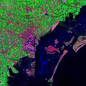 Map: Landsat Image: Venice, Italy