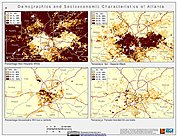 Map: Demographic & Socioeconomic Characteristics (2000): Atlanta, GA