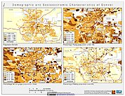 Map: Demographic & Socioeconomic Characteristics (2000): Denver, CO