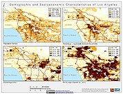 Map: Demographic & Socioeconomic Characteristics (2000): Los Angeles, CA