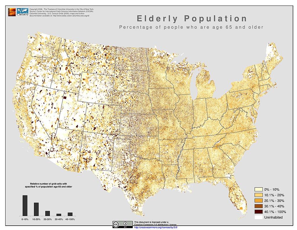 Maps US Census Grids SEDAC